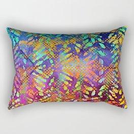 Sunset Batik Rectangular Pillow
