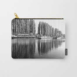 Barges on the River Oise Carry-All Pouch
