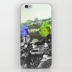 motorqueen iPhone & iPod Skin