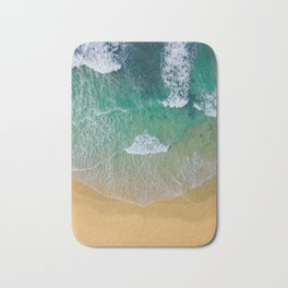 Ocean from the sky Bath Mat