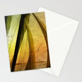 Sailing Schooner from the past Stationery Cards