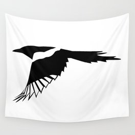 Pica Pica (magpie)  one Galery Giftshop Wall Tapestry
