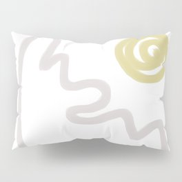 peaceful mountain by isa Pillow Sham