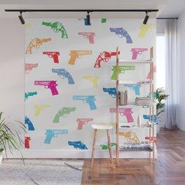 Ton Guns Pattern Wall Mural