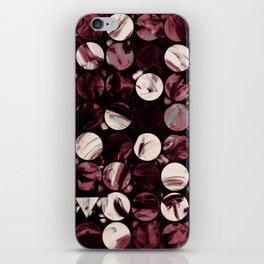 Tropical Geometry - Bordeaux iPhone Skin