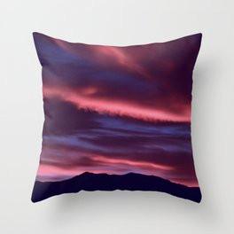 SW Serenity Rose Sunrise Throw Pillow