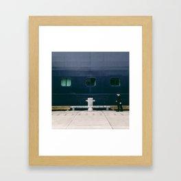 regulation blues Framed Art Print