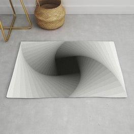 Square spiral - Bright Rug