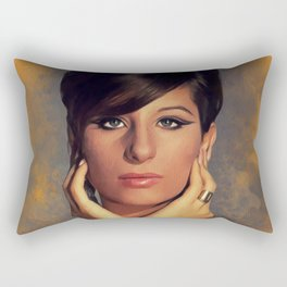 Barbara Streisand, Legend Rectangular Pillow