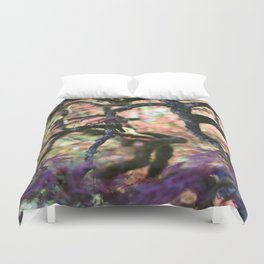 Into The Spiral Duvet Cover