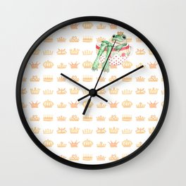 The Crown Prince Wall Clock