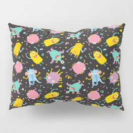 Monsters party Pillow Sham