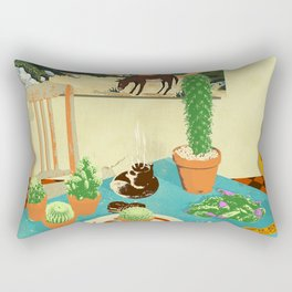 LA MESA DE CACTUS Rectangular Pillow