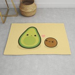 Cute avocado and stone Rug