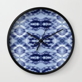 Laurel Canyon Tie-Dye Wall Clock