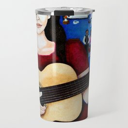 "Violeta Parra - ""Black wedding"" Travel Mug"