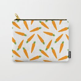 CARROT CARROTS VEGGIE FOOD PATTERN Carry-All Pouch