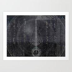 Vertical Scheme Art Print