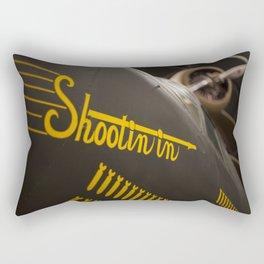 Shootin in  Rectangular Pillow