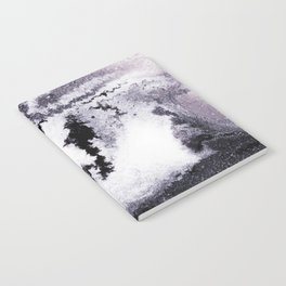 titanium white / carbon black / silver Notebook