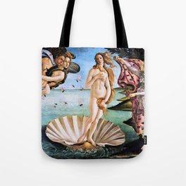Sandro Botticelli - The Birth Of Venus - Digital Remastered Edition Tote Bag