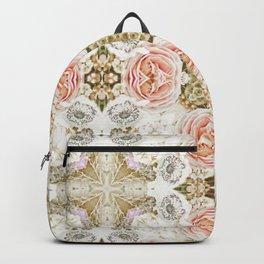 Vintage Floral Two Backpack