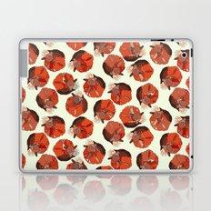 curled fox polka ivory Laptop & iPad Skin