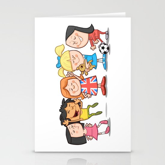 Spice Girls Kids Stationery Cards