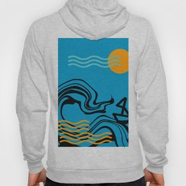 Boat and ocean Hoody