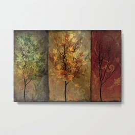 Tree Story Metal Print