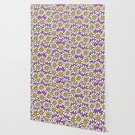 Sun flower design Wallpaper