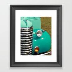 Vintage Car Framed Art Print