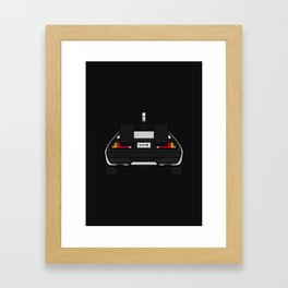 DeLorean Framed Art Print