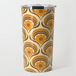 Orange  Daisy Dream Travel Mug