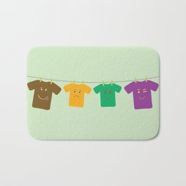 Hanging Tee Family Bath Mat