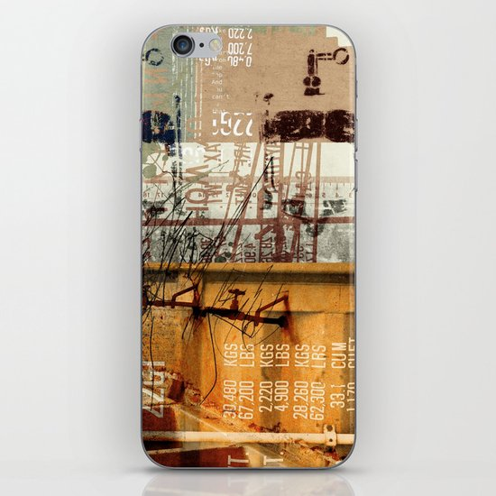 BABEL OVERDUBS II iPhone & iPod Skin