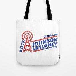 Johnson & Baloney Tote Bag