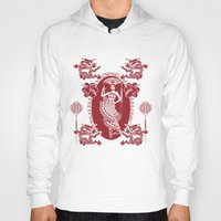 china Hoodies featuring Imperial China by Vannina
