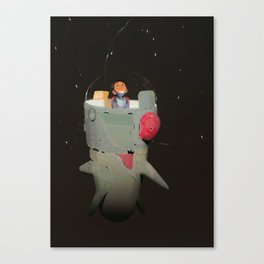 Space kiddo Canvas Print