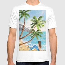 Mermaid on Beach T-shirt