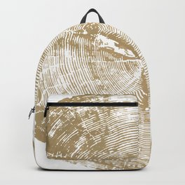 Sundance Pine, Tree ring print Backpack