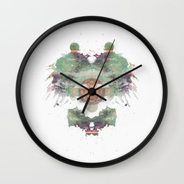 Inkdala IV (Rorschach) Wall Clock