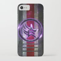n7 iPhone & iPod Cases featuring N7 Paragade/Renagon by Toronto Sol