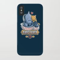 fullmetal iPhone & iPod Cases featuring Alphonse's Cat Sanctuary by adho1982