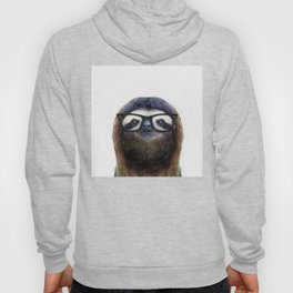 Hipster Sloth Hoody