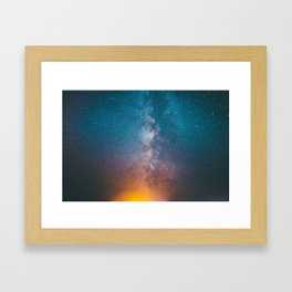 Igniting The Galaxies Framed Art Print