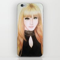 2ne1 iPhone & iPod Skins featuring Park Bom (2NE1) by Hileeery