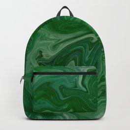 Malachite Marble Backpack
