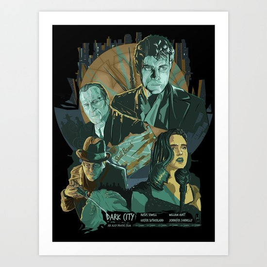 Dark City Poster Art Print