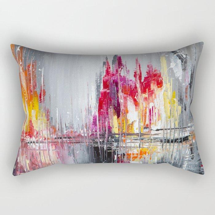 After rain Rectangular Pillow